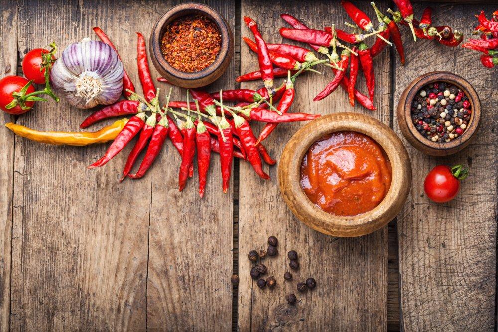 Аджика: рецепт острого соуса