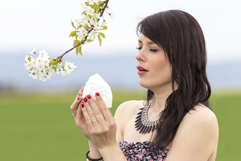 Симптомы аллергии на пыльцу