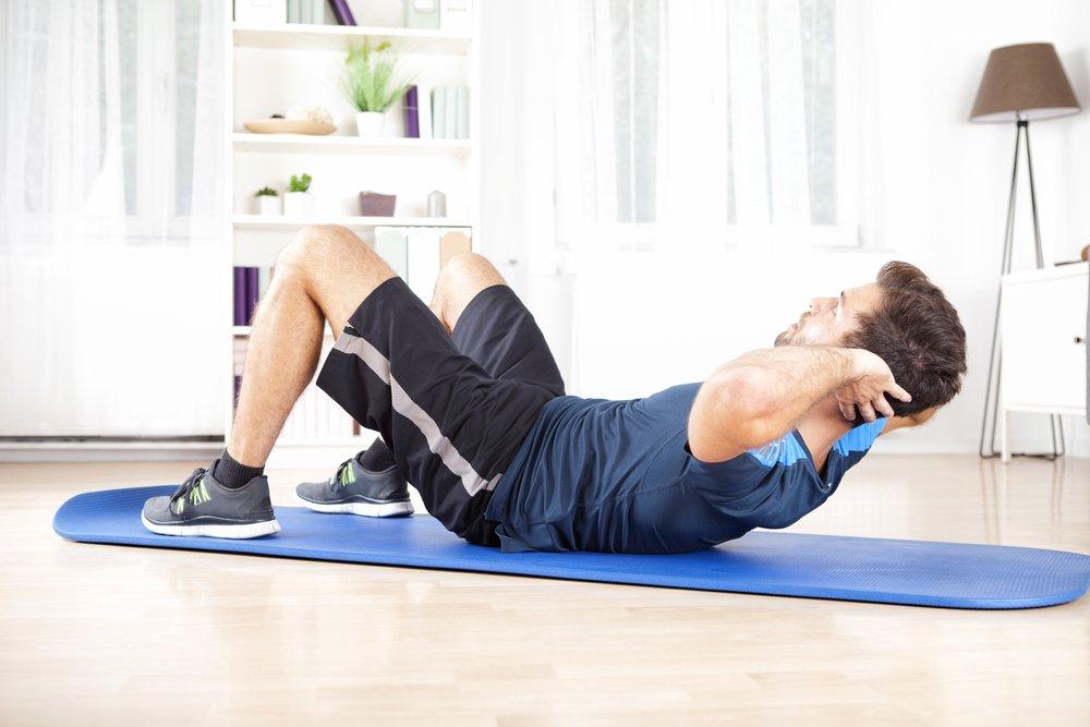Основные упражнения для мужской тренировки