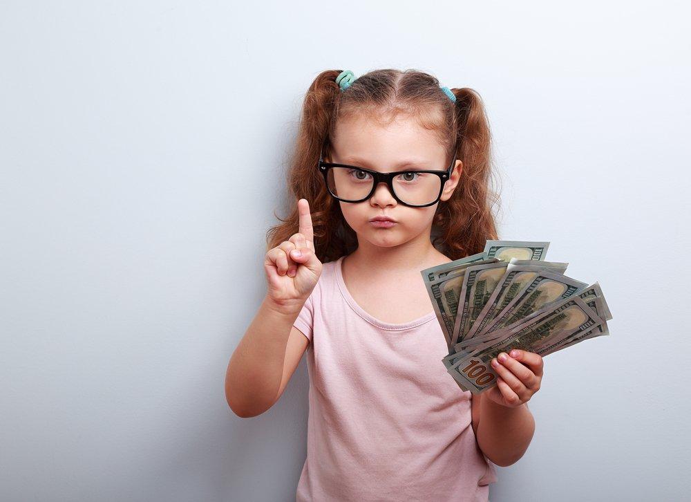Воспитание детей в духе правильного обращения с деньгами