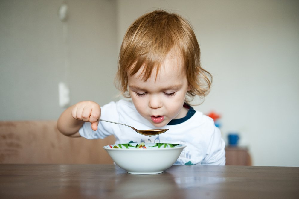 … А обед по расписанию! Важно полноценное питание