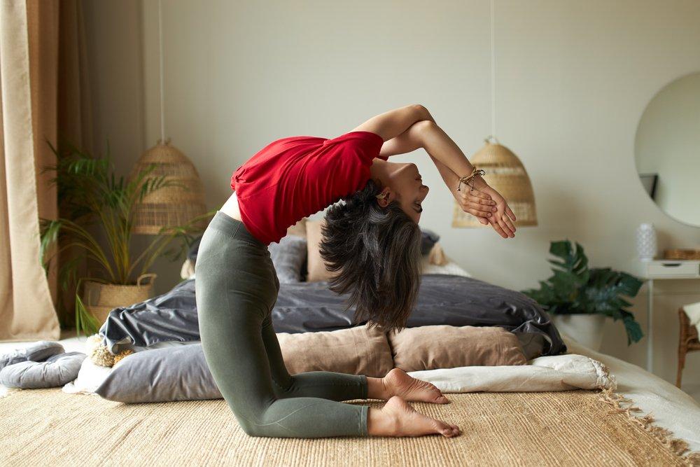 Упражнение 5: Прогиб в спине