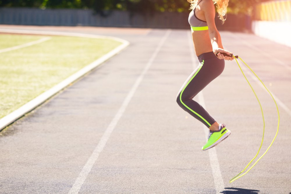 Прыжки со скакалкой для похудения
