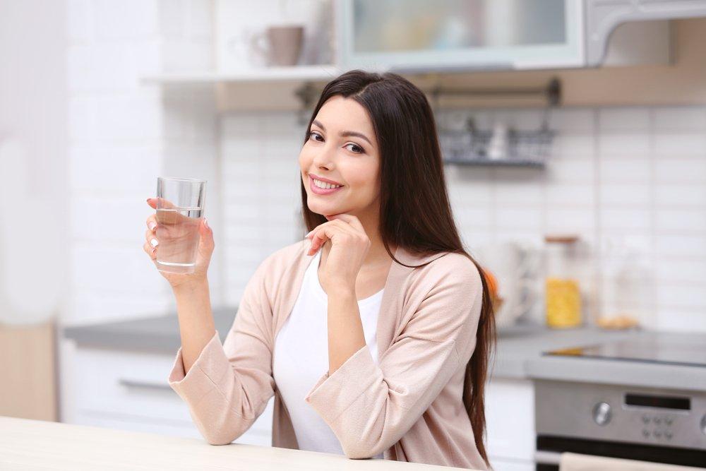Выпивайте перед едой воду