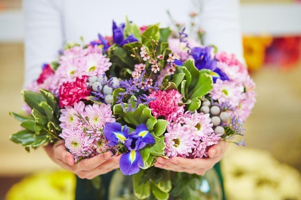 Красота цветочных композиций