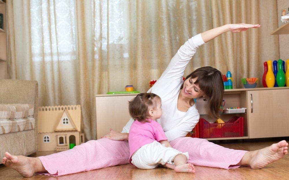 Упражнения для пресса после родов
