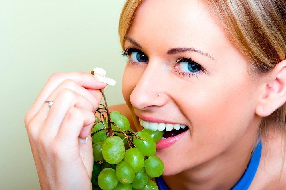 Меню диеты на винограде