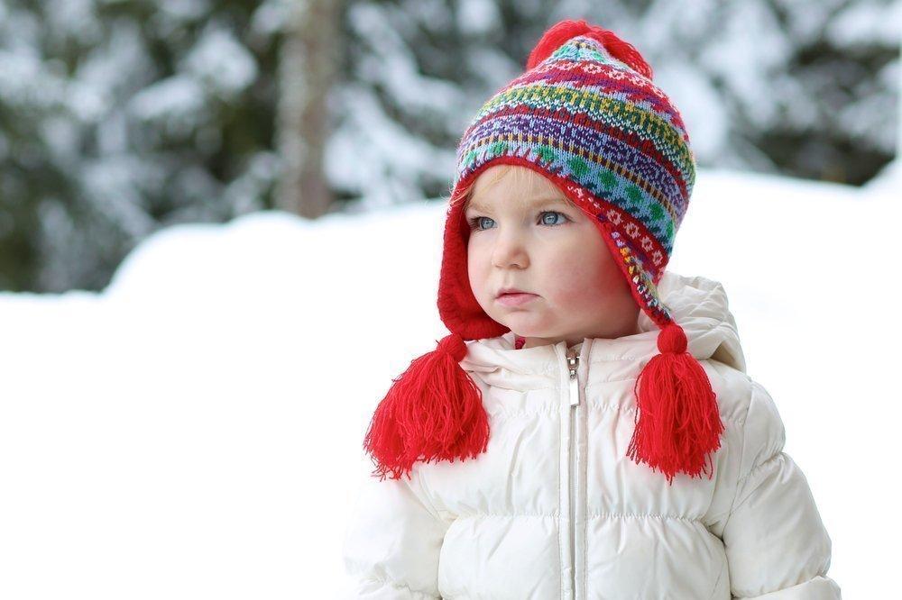 Зимние шапки для детей: основные ткани и утеплители