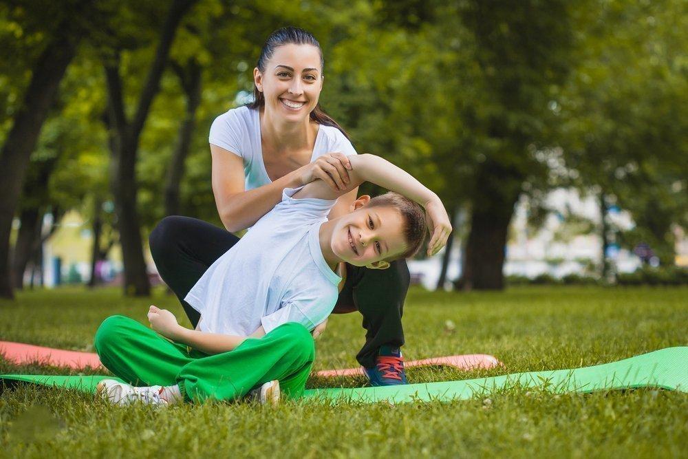 Игровые позы йоги для детей