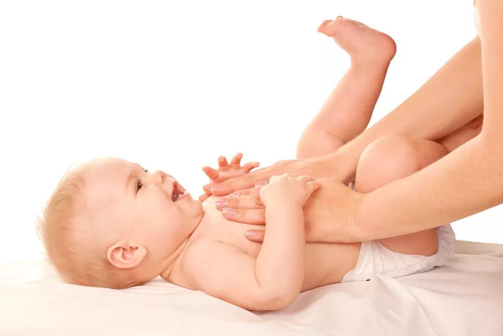 Расслабляющий массаж для малыша