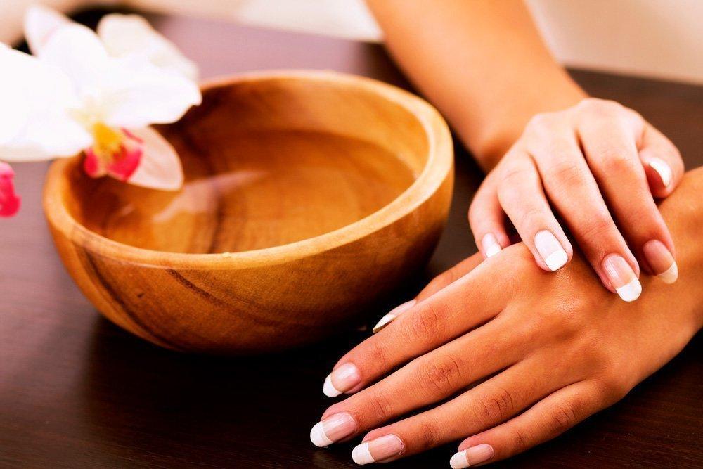 Ванночки для сухой кожи рук и ногтей