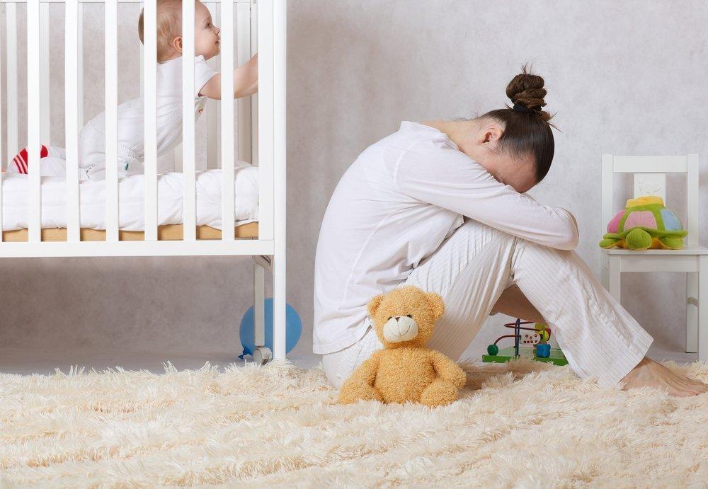 Депрессия после рождения ребенка