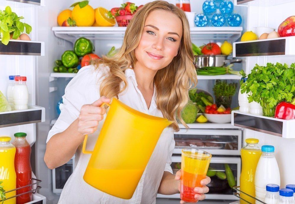продукты против жира на животе