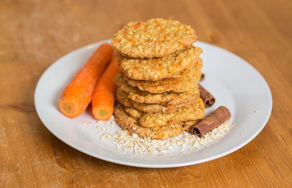 Быстрый рецепт морковного печенья