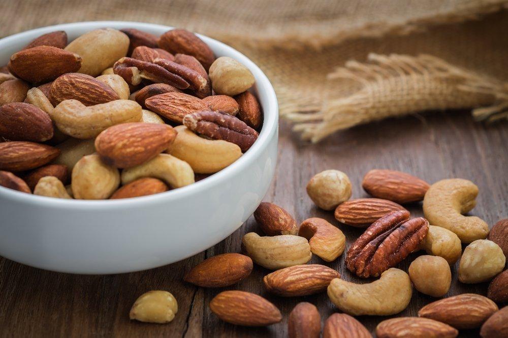 Орехи в питании пациентов с целиакией и не только