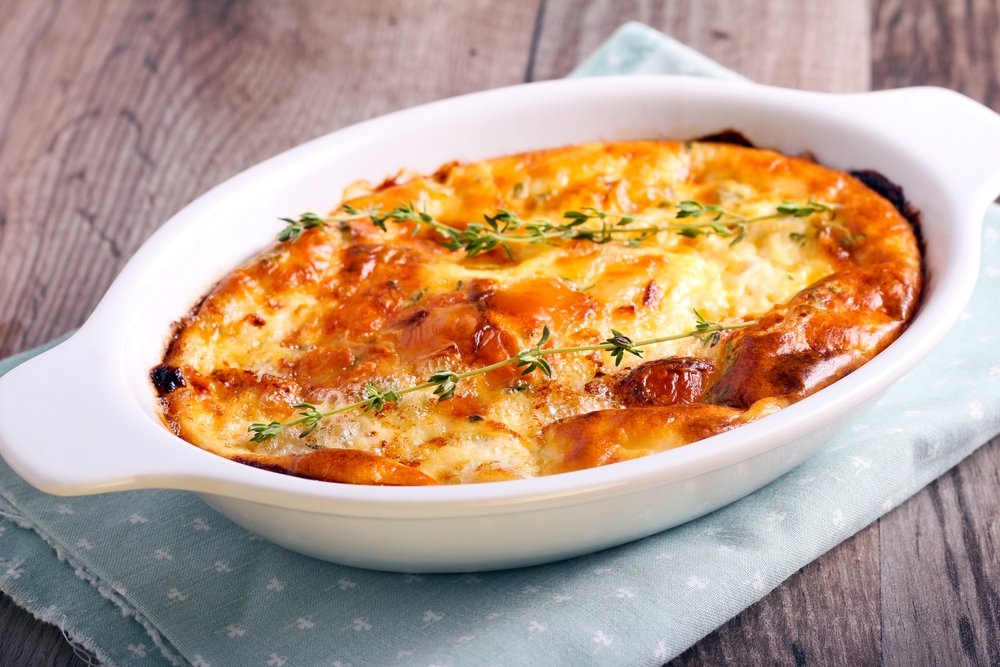 Рецепт ароматного и очень полезного суфле из овощей