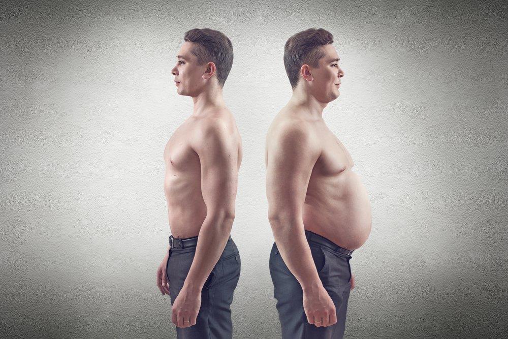 Проблема лишнего веса у современных людей