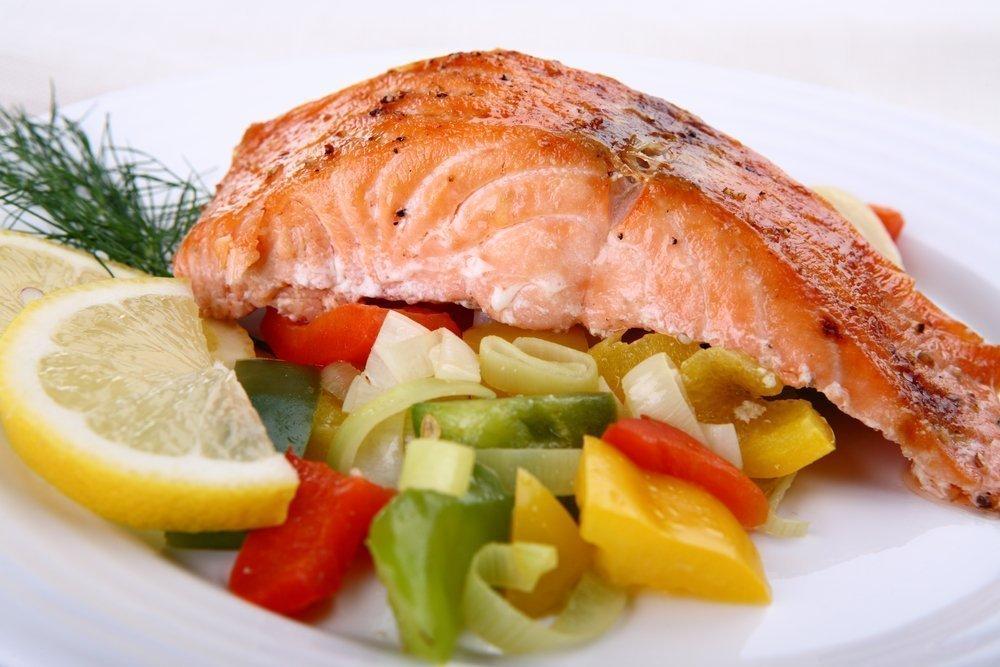 как похудеть на красной рыбе