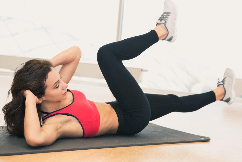 Укрепление пресса: упражнения для брюшных мышц