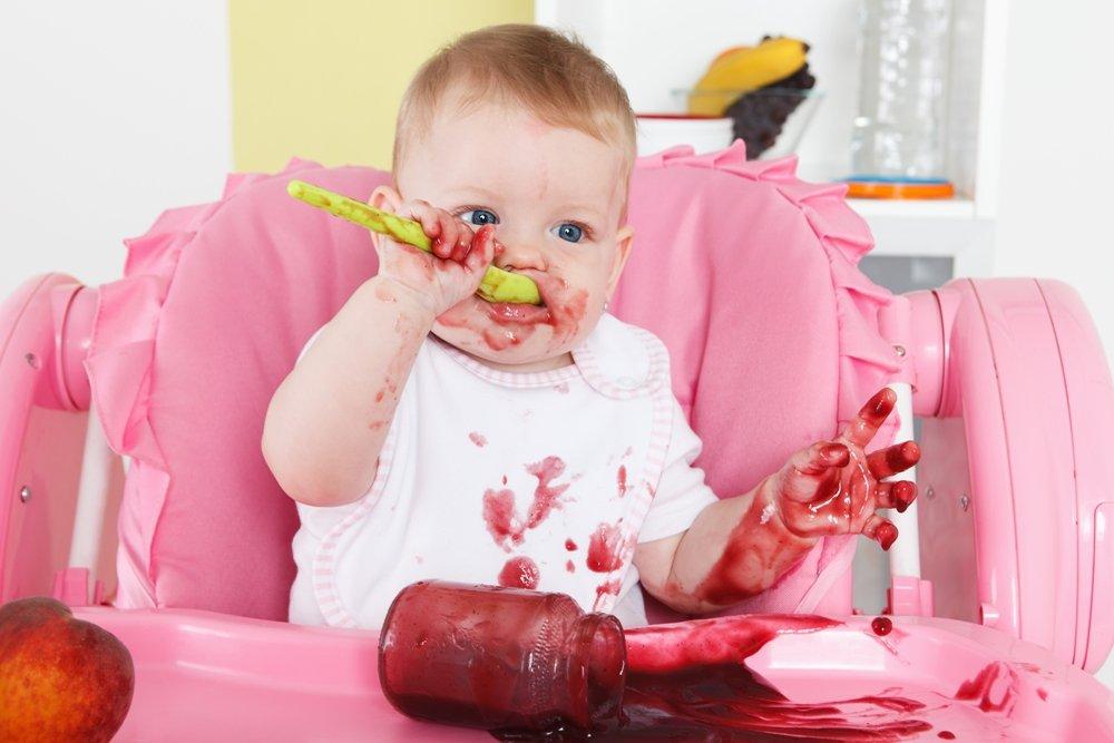Приучаем малыша к опрятности и чистоте вовремя