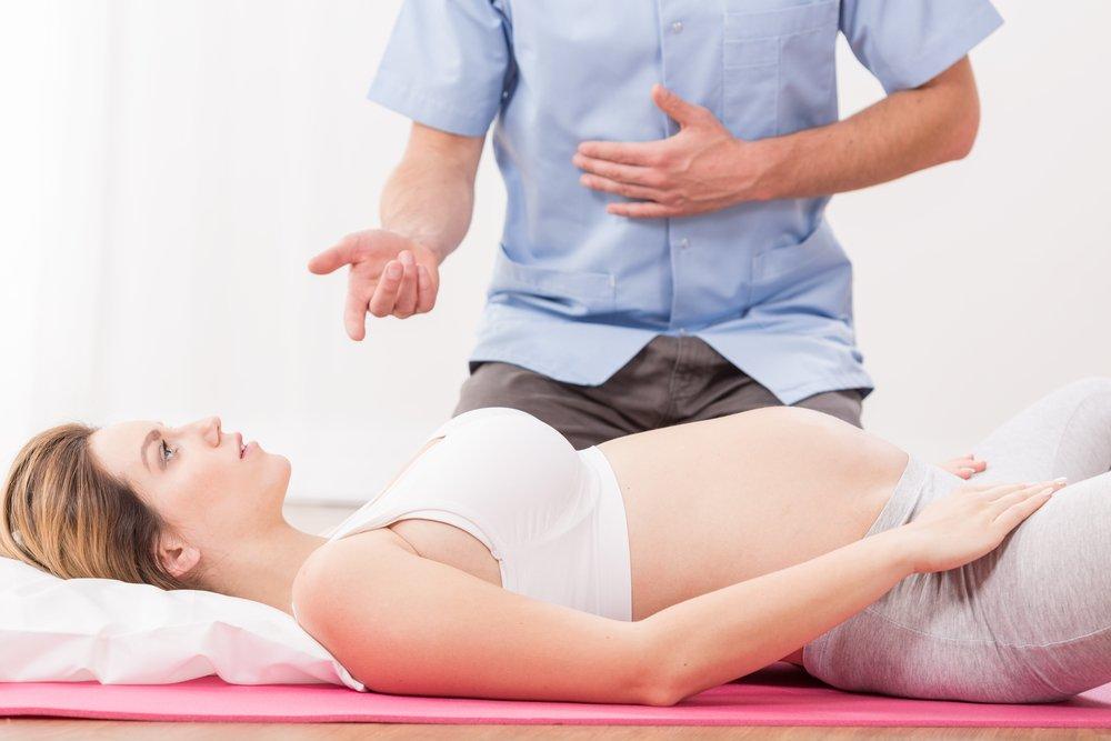Техника дыхания во время родов