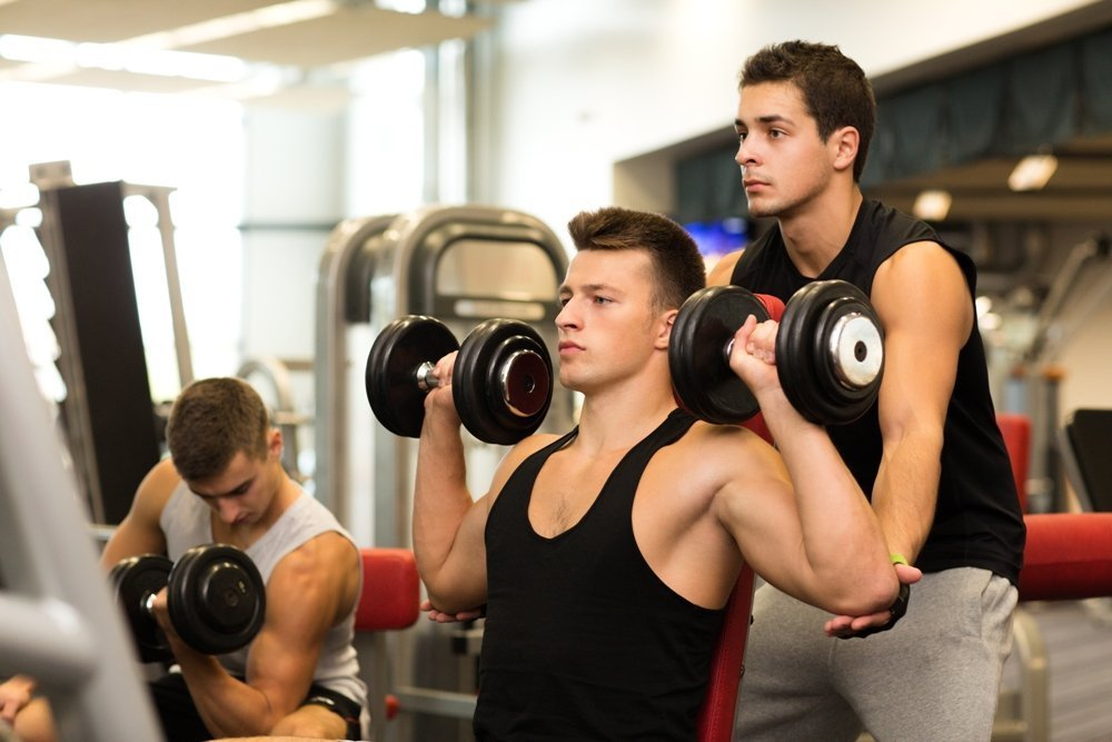 Занятия фитнесом для передних дельт