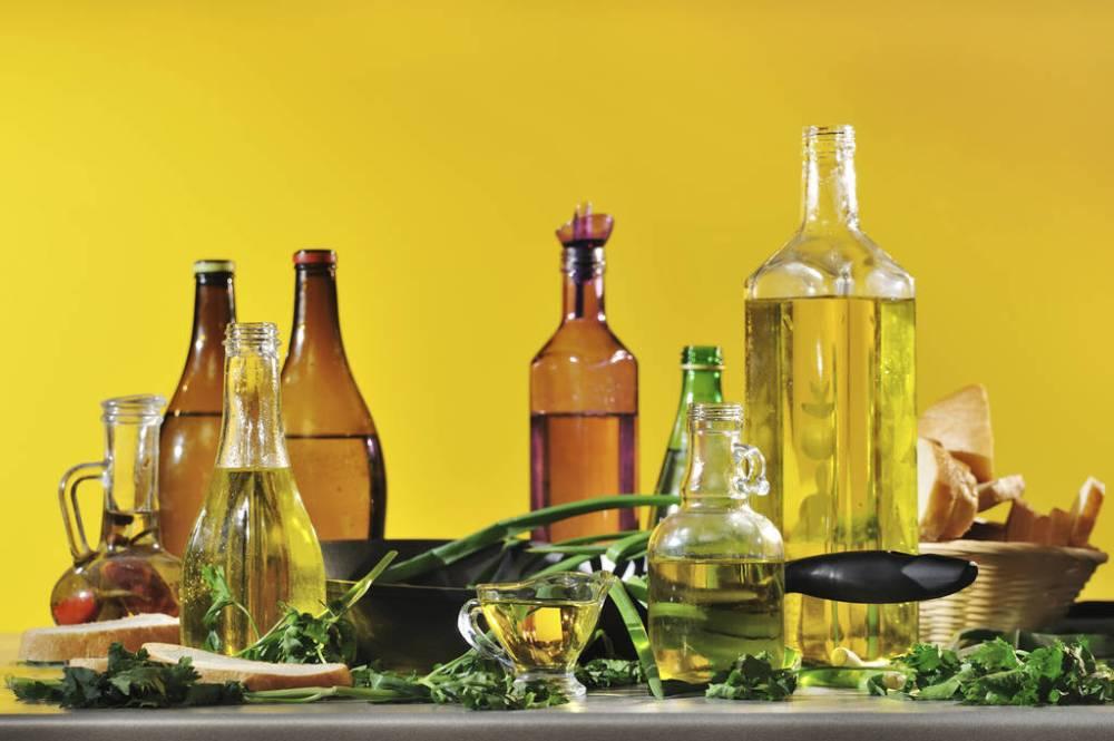 Растительные жиры в продуктах