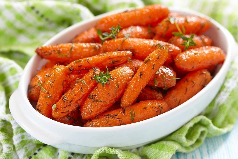 Гарнир из моркови к рыбе