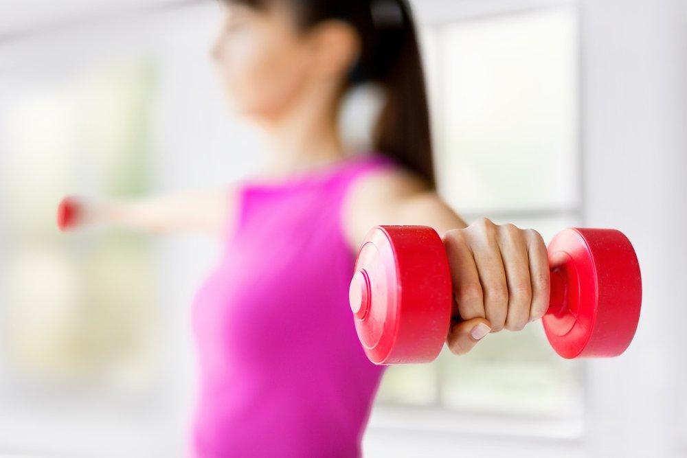 Эффективные упражнения для мышц плеч
