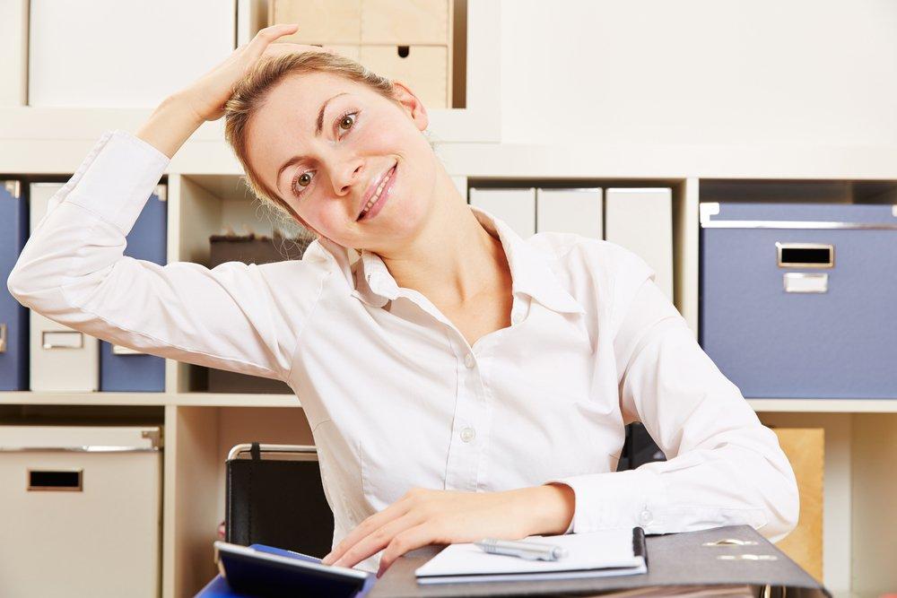 Упражнения в домашней или рабочей обстановке
