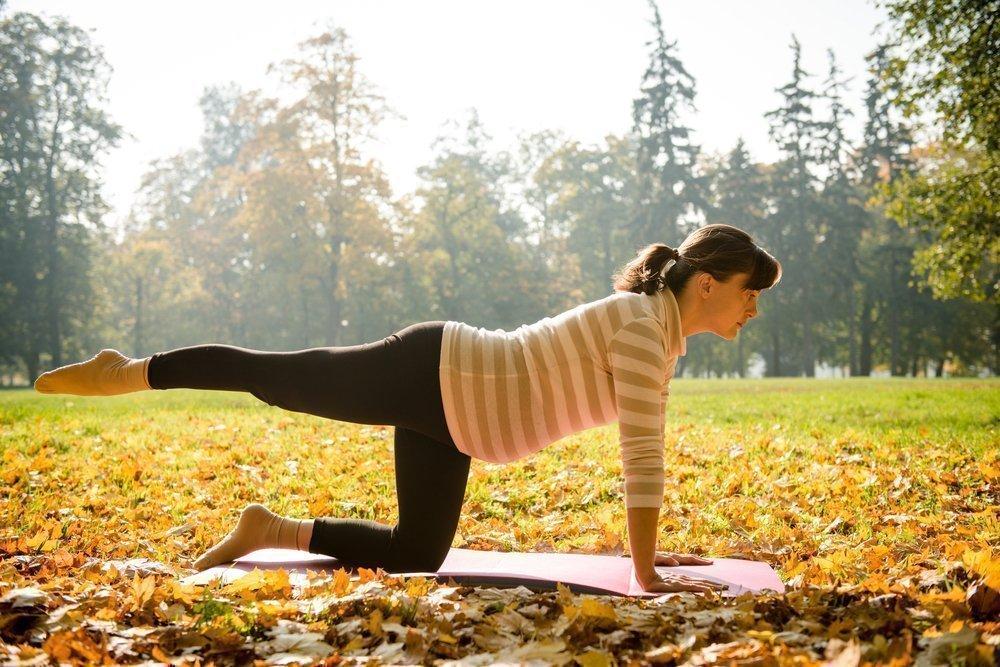 Фитнес на разных сроках беременности