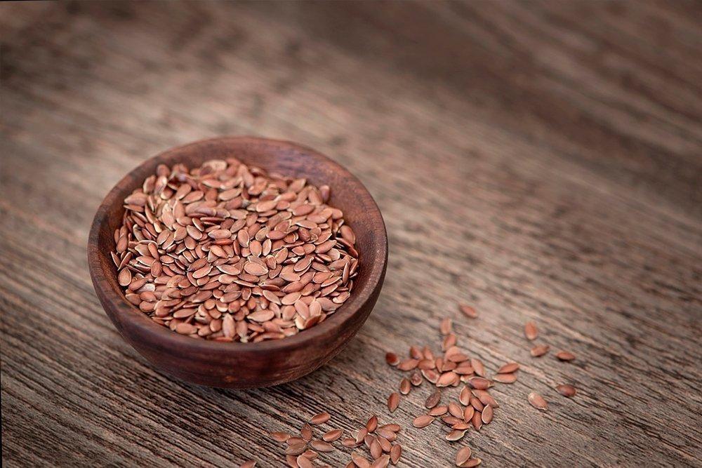 Семя льна и льняное масло — источник полиненасыщенных жирных кислот