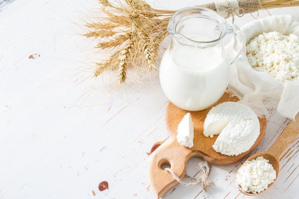 Кисломолочные продукты в питании ребенка