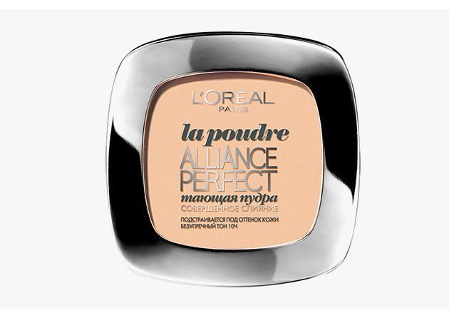 Пудра компактная L'Oreal Alliance Perfect Compact Powder Источник: cosmopolitan.ru