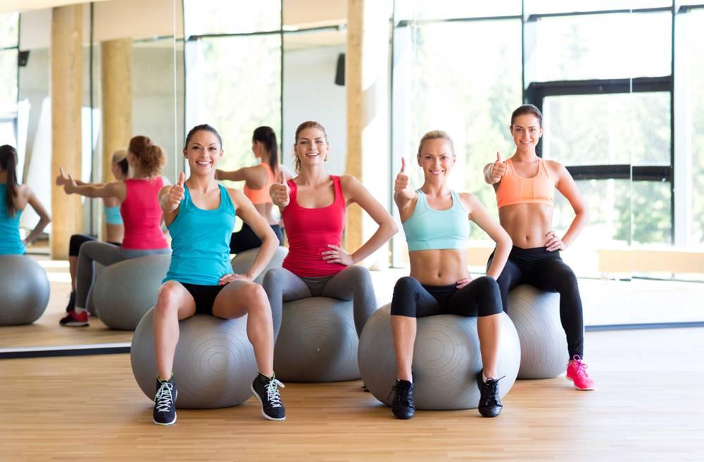 Правила фитнес-тренировок с мячом