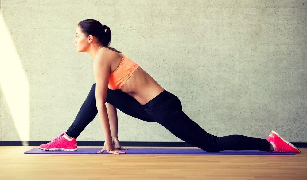 Простые упражнения для тренировки ног