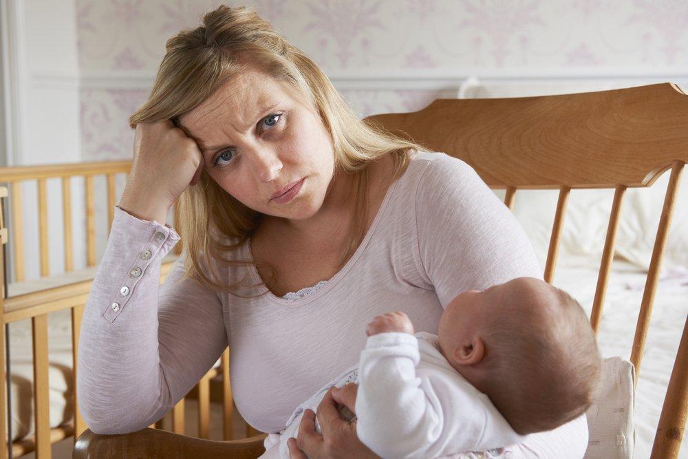 Лечение послеродовой депрессии: коротко об элементарном