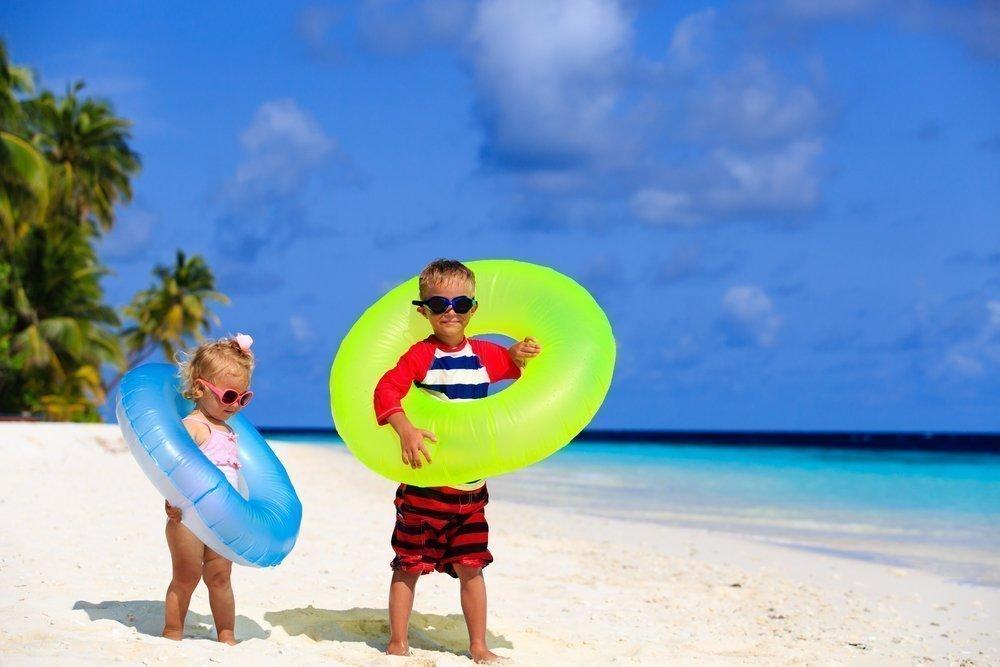 Здоровый образ жизни на берегу