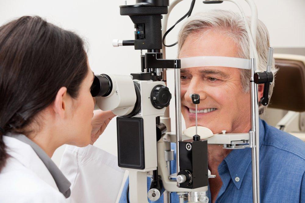 Клиническая картина при открытоугольной глаукоме