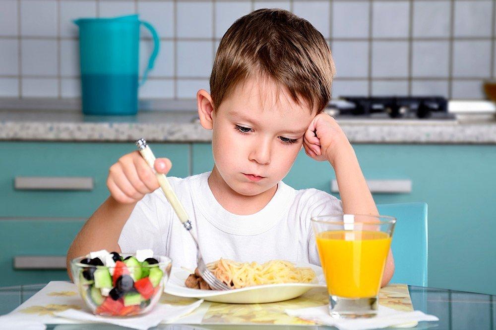 Запретные продукты питания для детей до 6 лет