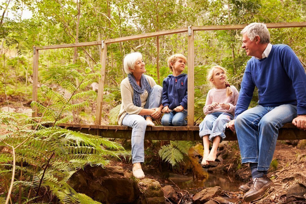 Воспитание детей с участием бабушки и дедушки