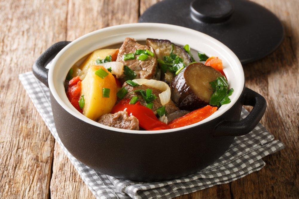 Как приготовить соте с овощами и мясом?