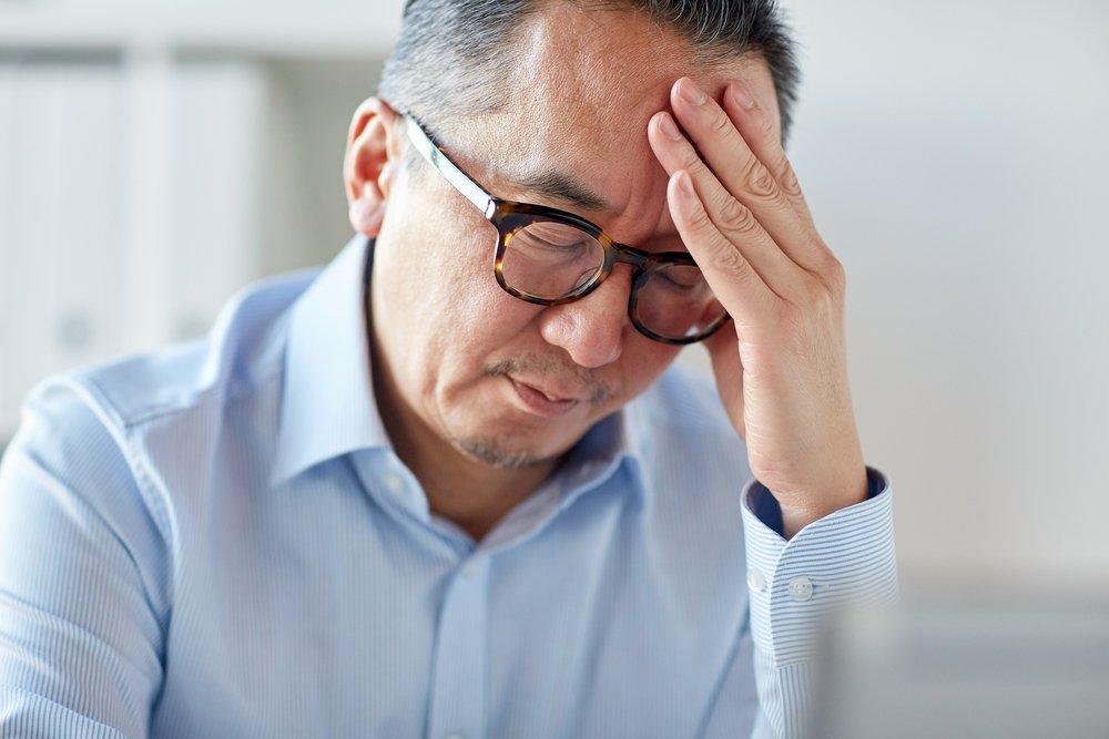 Основные симптомы травмы