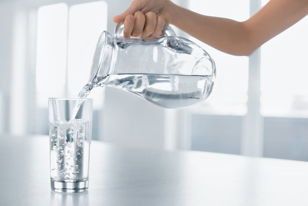 Питьевой режим: 2 литра воды в день