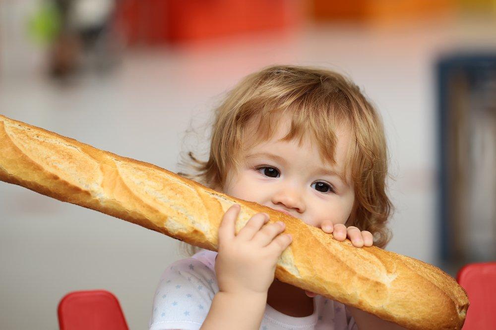 Хлеб в питании малыша