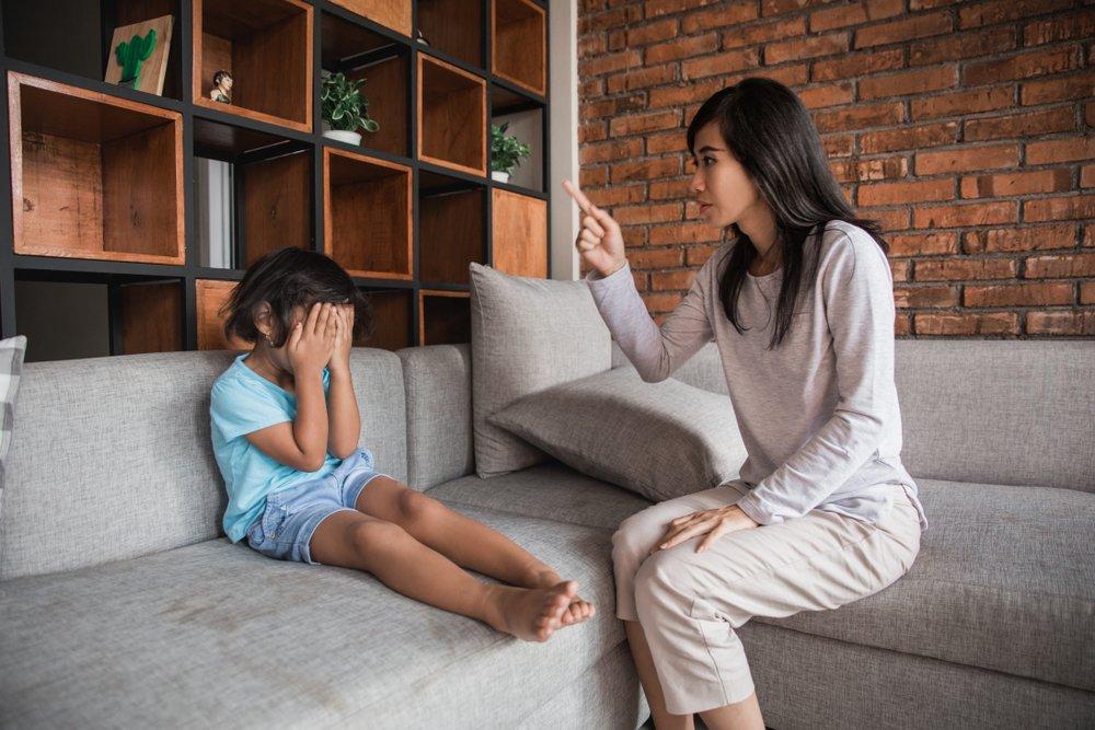 Методы, опасные для психики ребенка