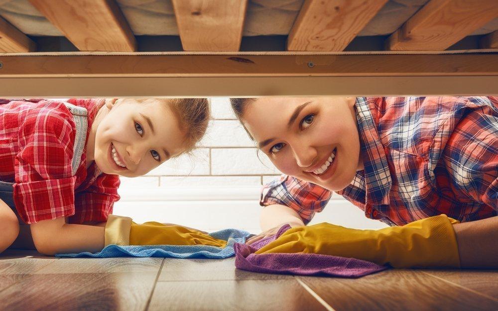 С чего начать уборку в детской?
