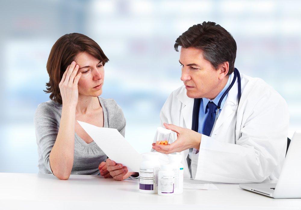 Необходимость консультации терапевта
