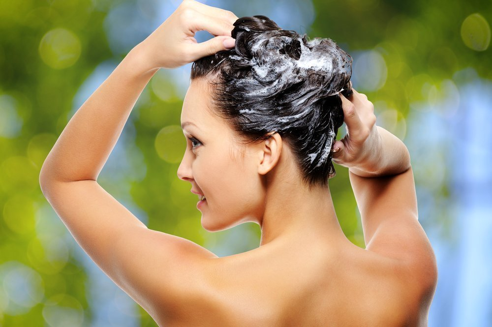 Как мыть голову при выпадении волос
