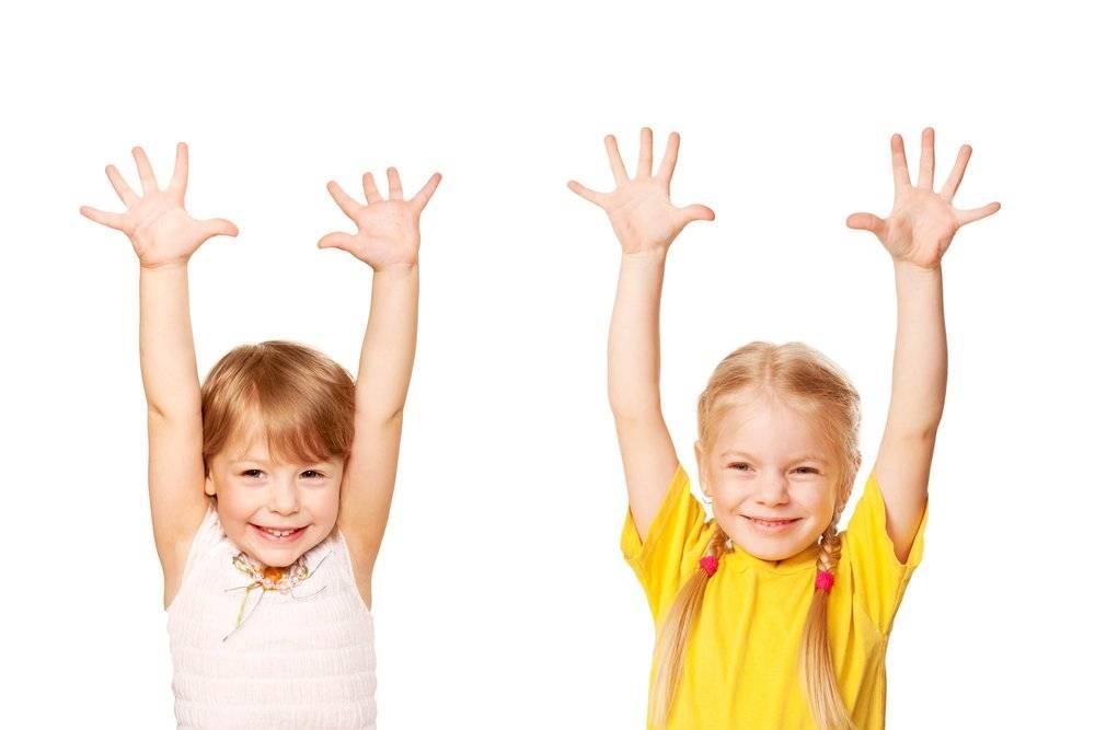 Комплекс упражнений для малышей до пяти лет